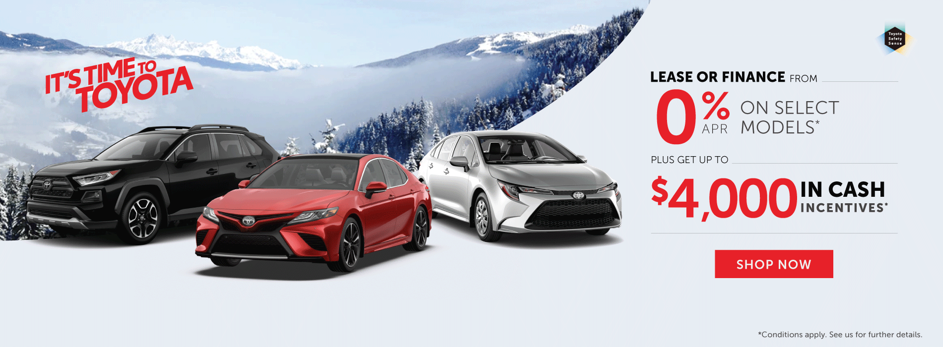 It's Time To Toyota - Toyota deals in Orangeville